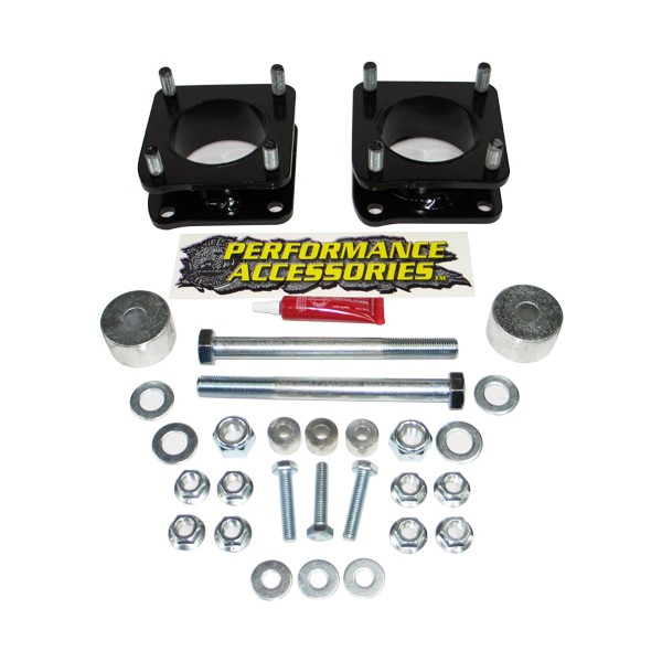 TL226PA Performance Accessories Leveling Kit Suspension 2-1/2 Inch