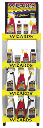 DIS-WIZA 4-Tier Display