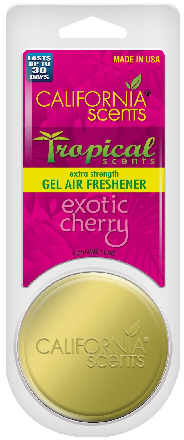 TSST-GEL-607MC California Scents Air Freshener Slim Tin