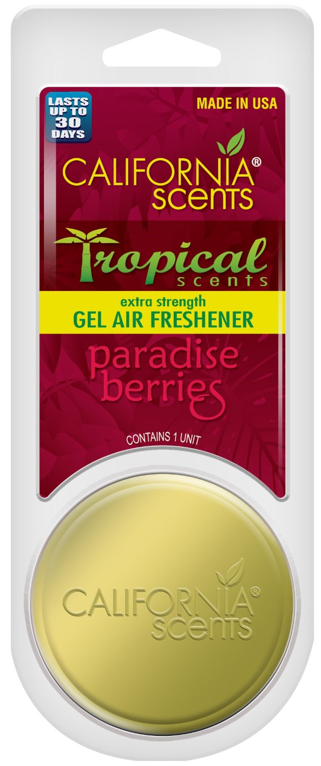 TSST-GEL-646MC California Scents Air Freshener Slim Tin