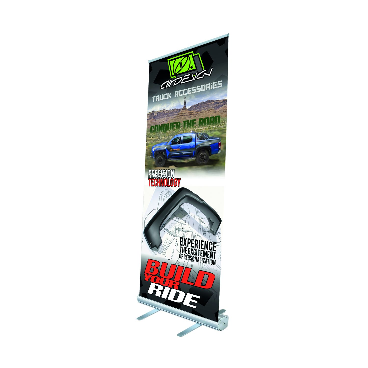 1577MZXUZZ99Z24 Air Design Display Banner Roll-Up Banner