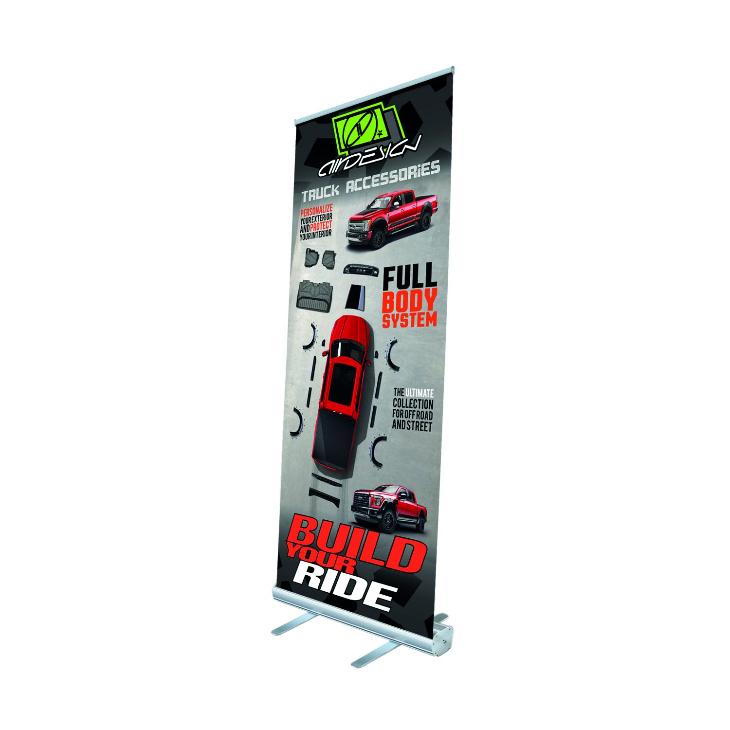 1577MZXUZZ99Z25 Air Design Display Banner Roll-Up Banner