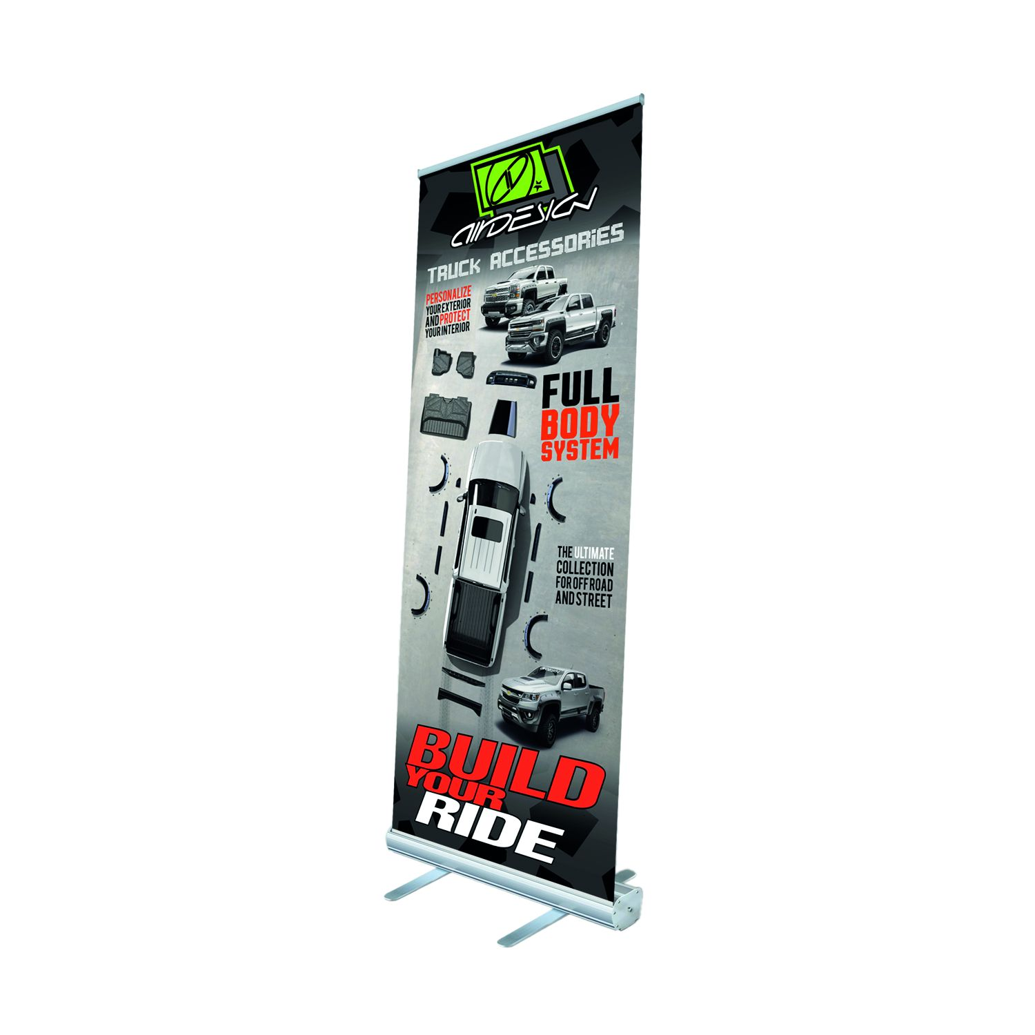 1577MZXUZZ99Z26 Air Design Display Banner Roll-Up Banner