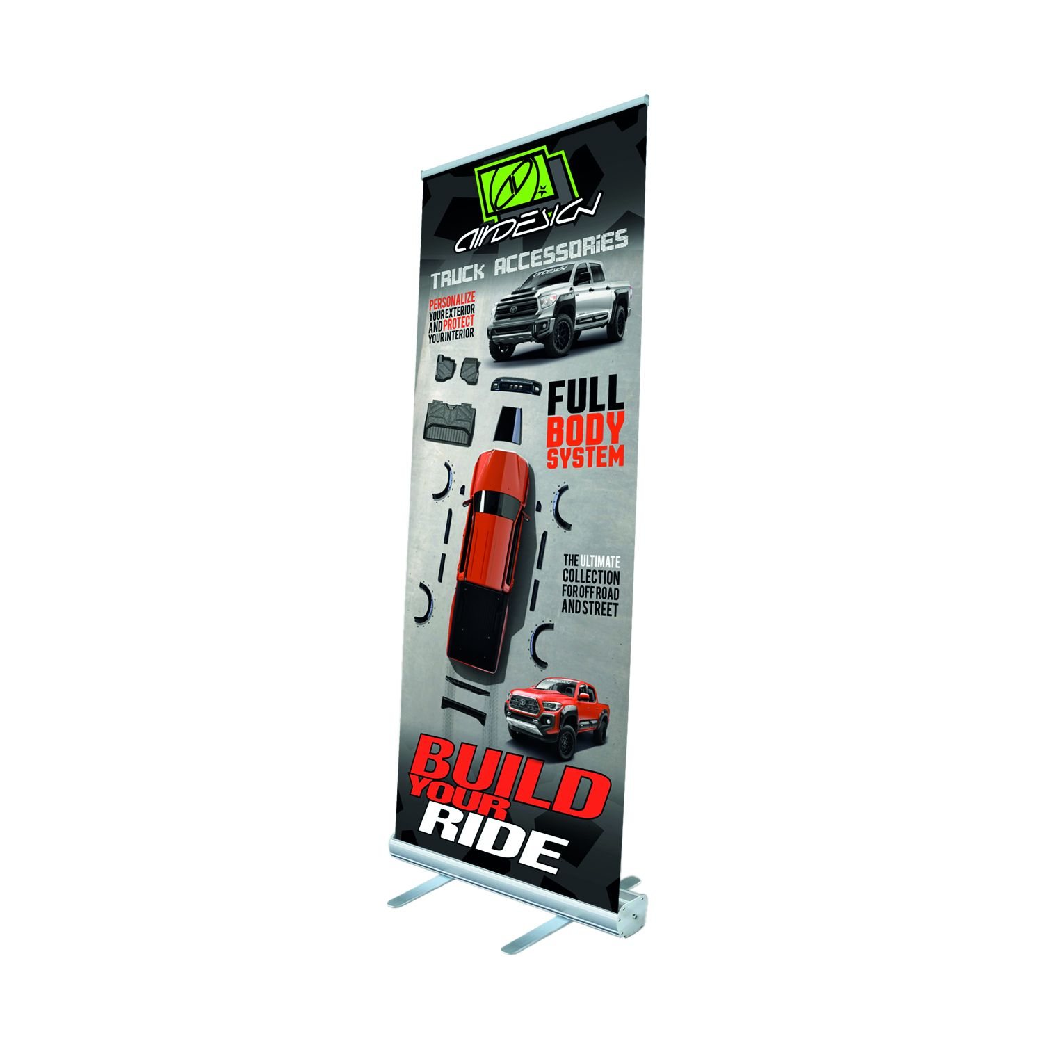 1577MZXUZZ99Z27 Air Design Display Banner Roll-Up Banner