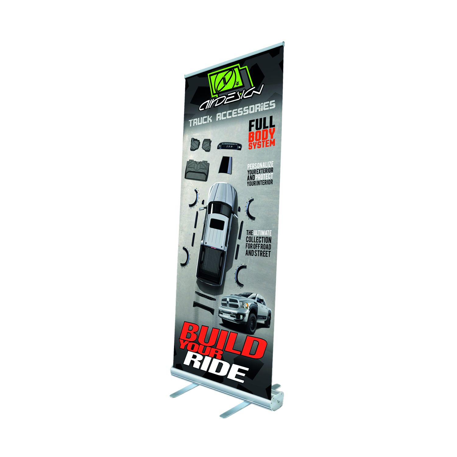 1577MZXUZZ99Z28 Air Design Display Banner Roll-Up Banner
