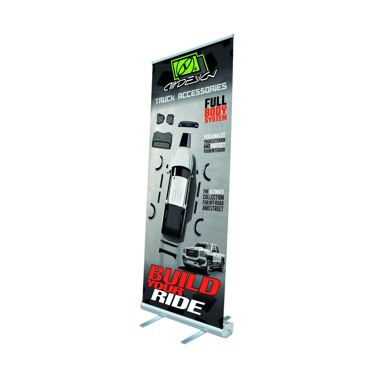 1577MZXUZZ99Z29 Air Design Display Banner Roll-Up Banner