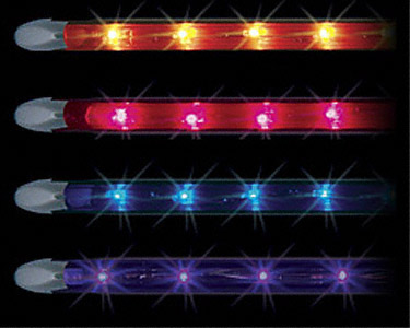 Fl12A Vista Running Lights 12Ambr Flxble Tube Light