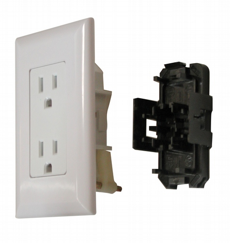 Diamond Group RV Trailer Camper Electrical Switch In-Line Black W//Plate V 1