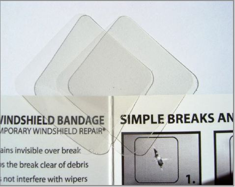 WFA2 JoDog Safety Innovations Windshield Repair Kit Use To Stop A