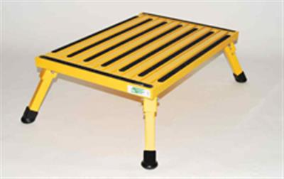 XL-08C-Y Safety Step Step Stool One Step With Non-Slip Strips And