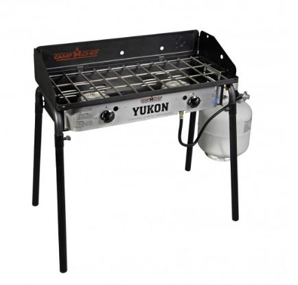 YK60LW Camp Chef Barbeque Grill 2 Burner