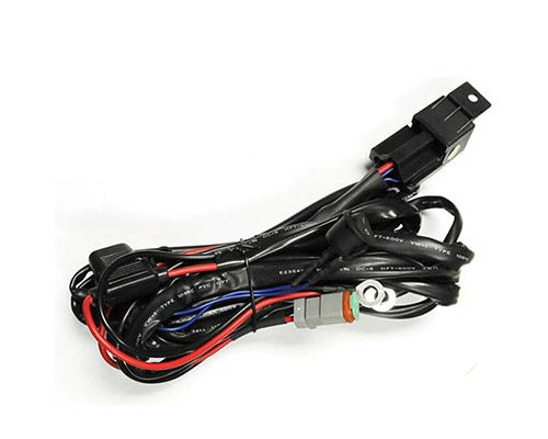 Z390020S-A Zroadz Light Bar Wiring Harness For Single ZROADZ Below