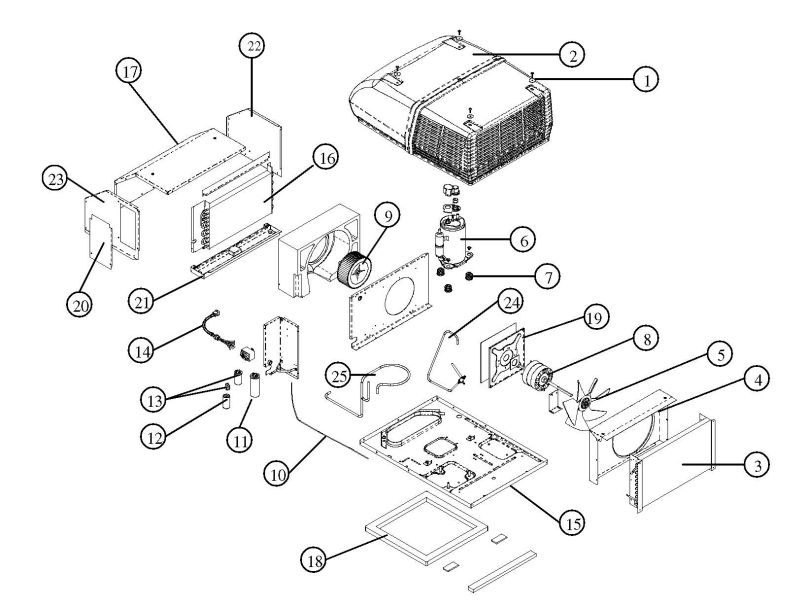 Coleman Air Conditioners Parts