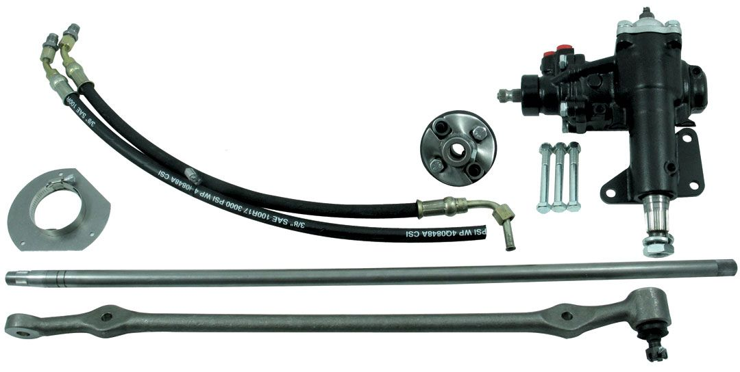 999023 Borgeson Power Steering Conversion Direct Fit/ Use On Cars