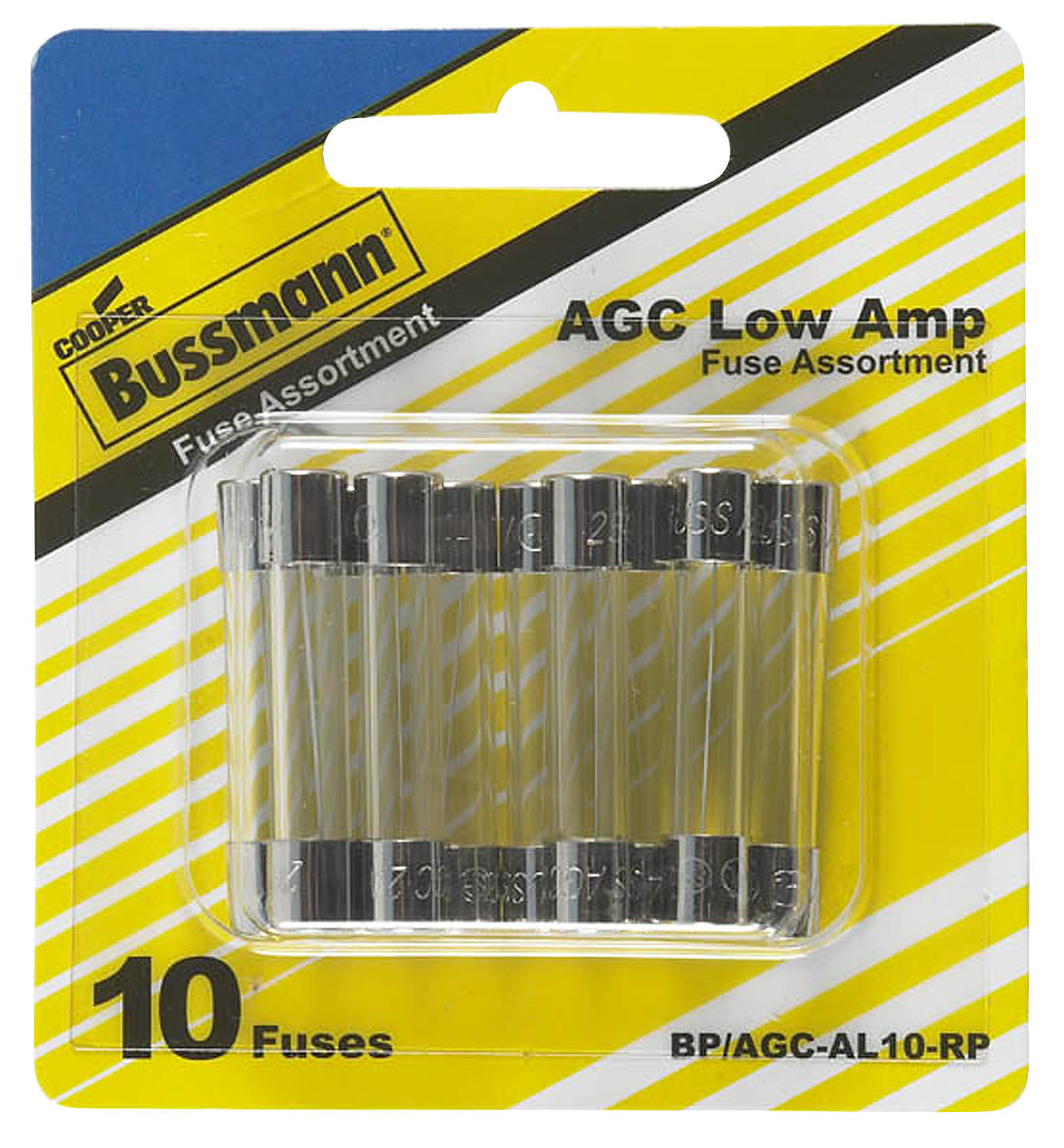 BP/AGC-AL10-RP Bussman Fuse Assortment AGC Glass Fuse