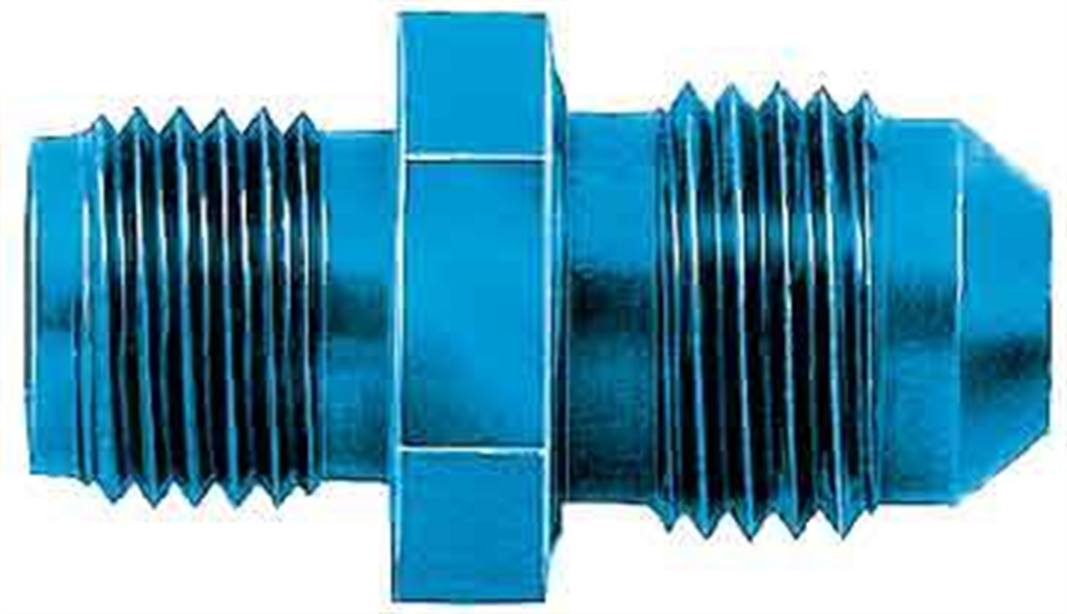 10AN Male to 1//2 45-Degree Pipe Adapter Aeroquip FCM2024 Blue Anodized Aluminum