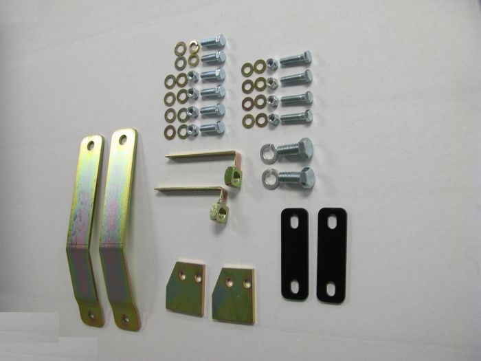JRR-YJ Hanson OffRoad Bumper Mounting Bracket Complete Kit To Install