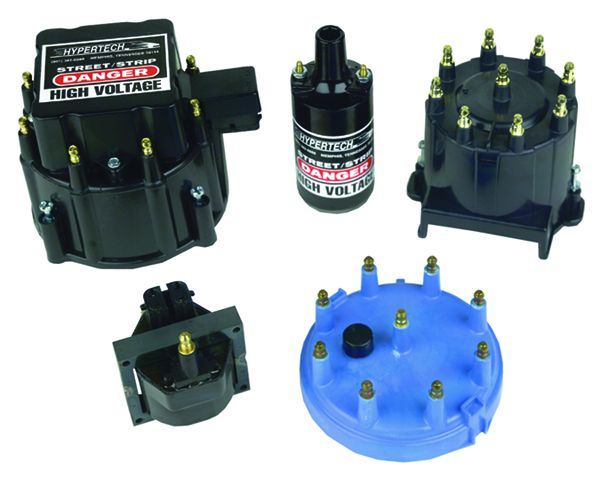 4060 Hypertech Distributor Cap and Rotor Kit Bolt Down