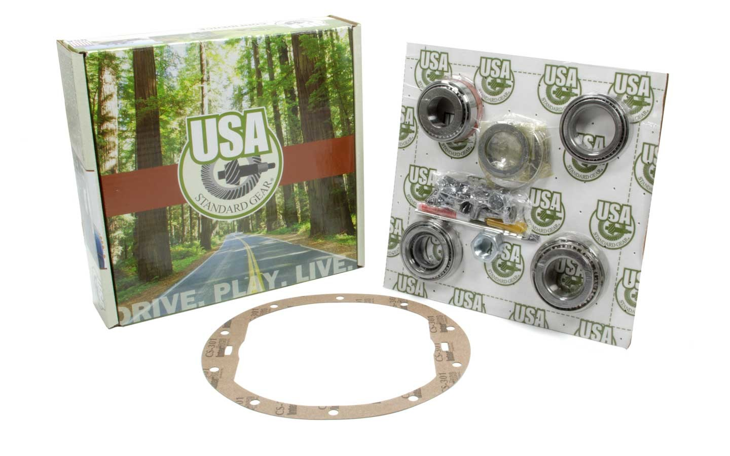 ZK GM8.5-HD Yukon Gear And Axle Master Overhaul Kit GM 8.5 w/Auburn