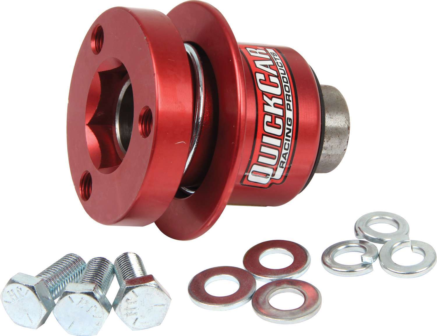 68-012 Quickcar Racing Products Steering Disconnect 360 Type Hex Alum