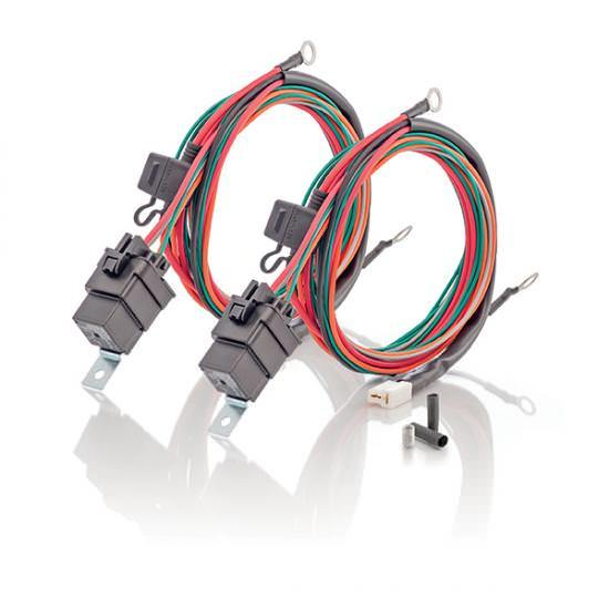 33-10220 C And R Racing Radiators Wiring Harness Double Electric Fan