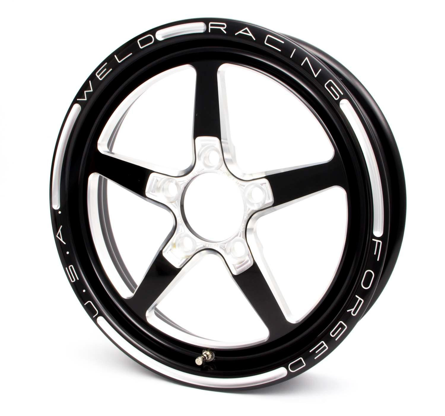 88B-15272 Weld Racing Aluma Star 15x3.5 Wheel 5x4.75 2.25 BS Black