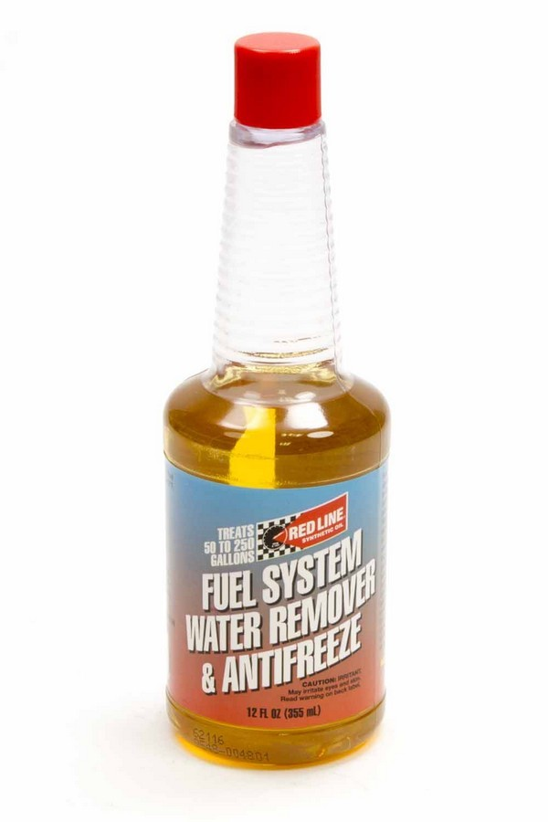 RED60302 Redline Oil Fuel System Anti-Freeze & Water Remover- 12oz