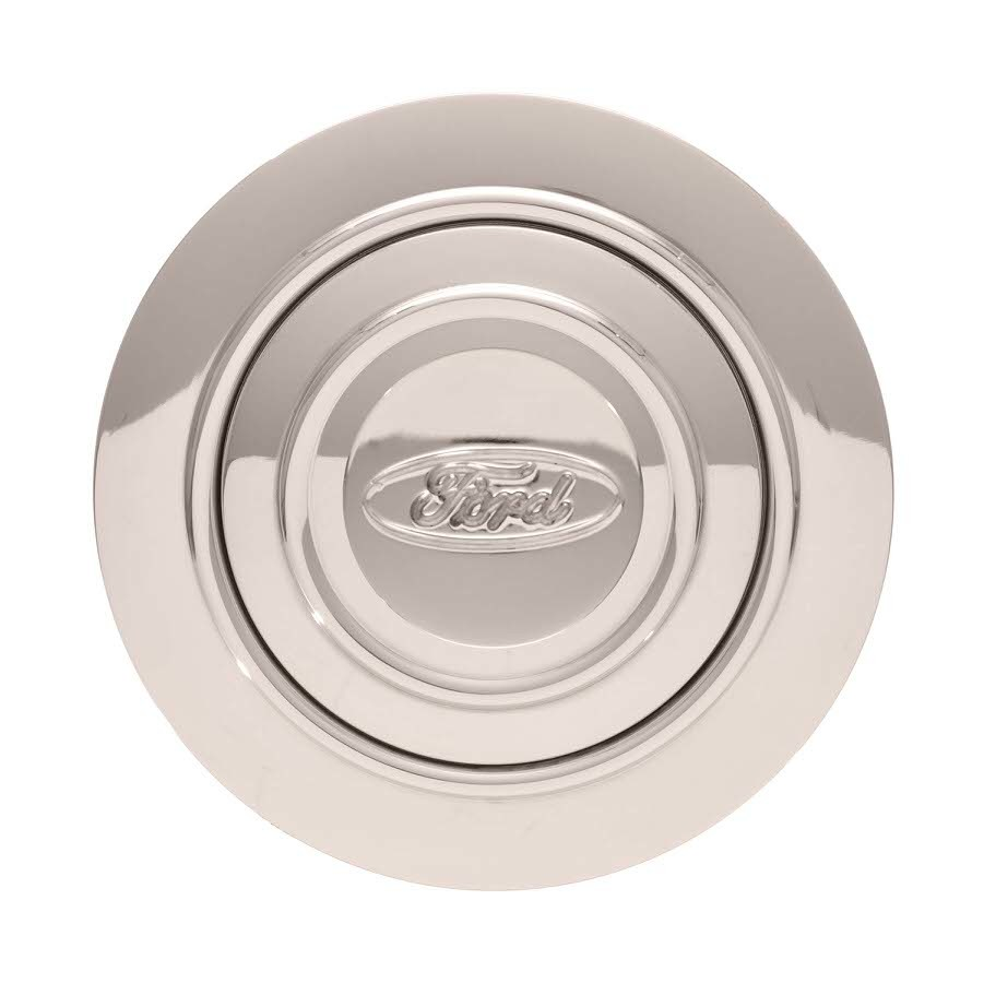 11-1221 Gt Performance GT9 Horn Button Ford Oval Engraved