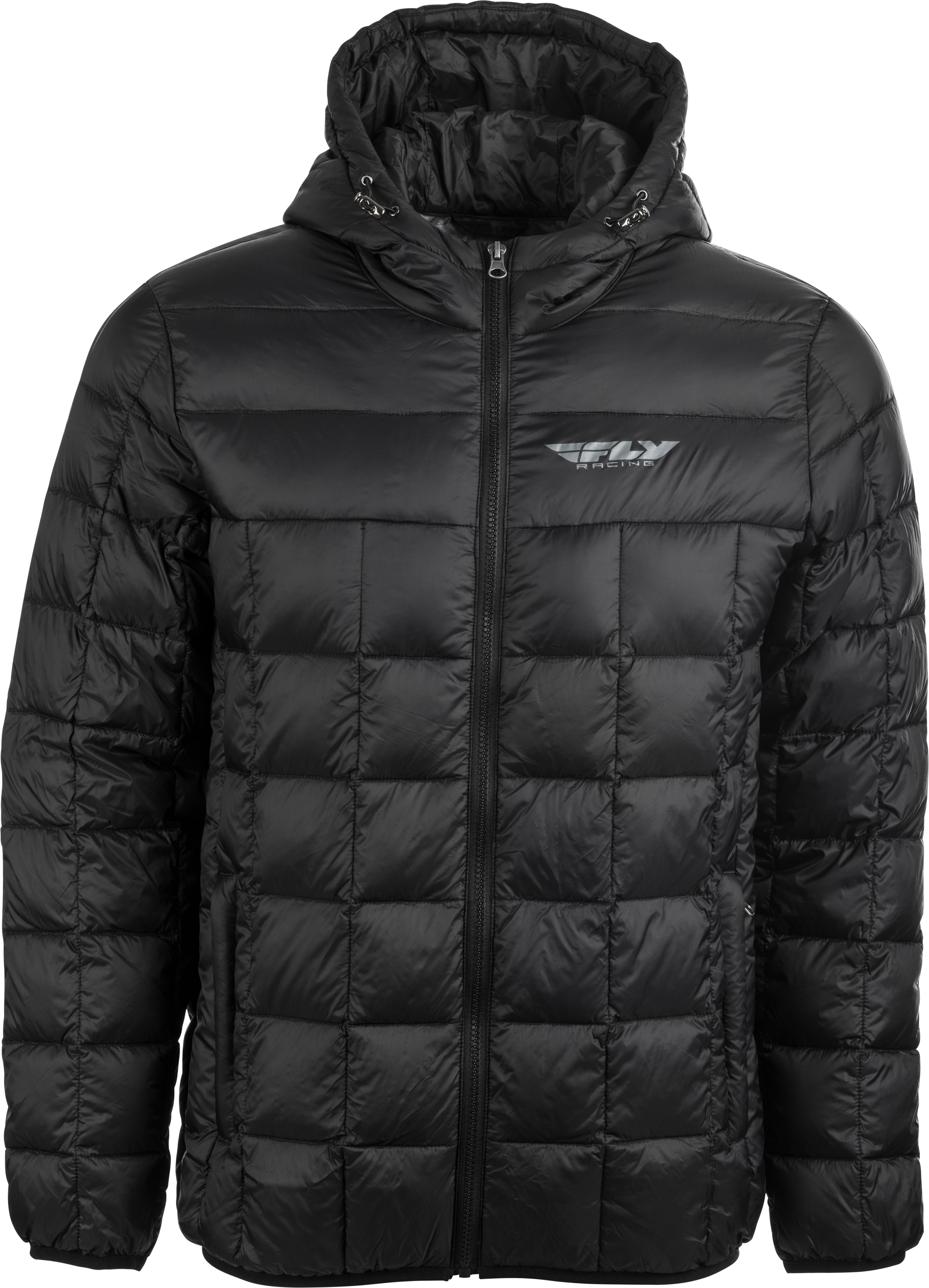 354-6180M Fly Racing Fly Spark Down Jacket Black Md