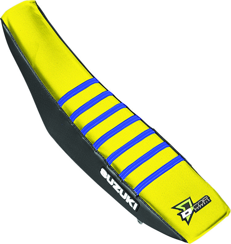 D'Cor 30-40-454 Seat Cover Black/Yellow/Blue