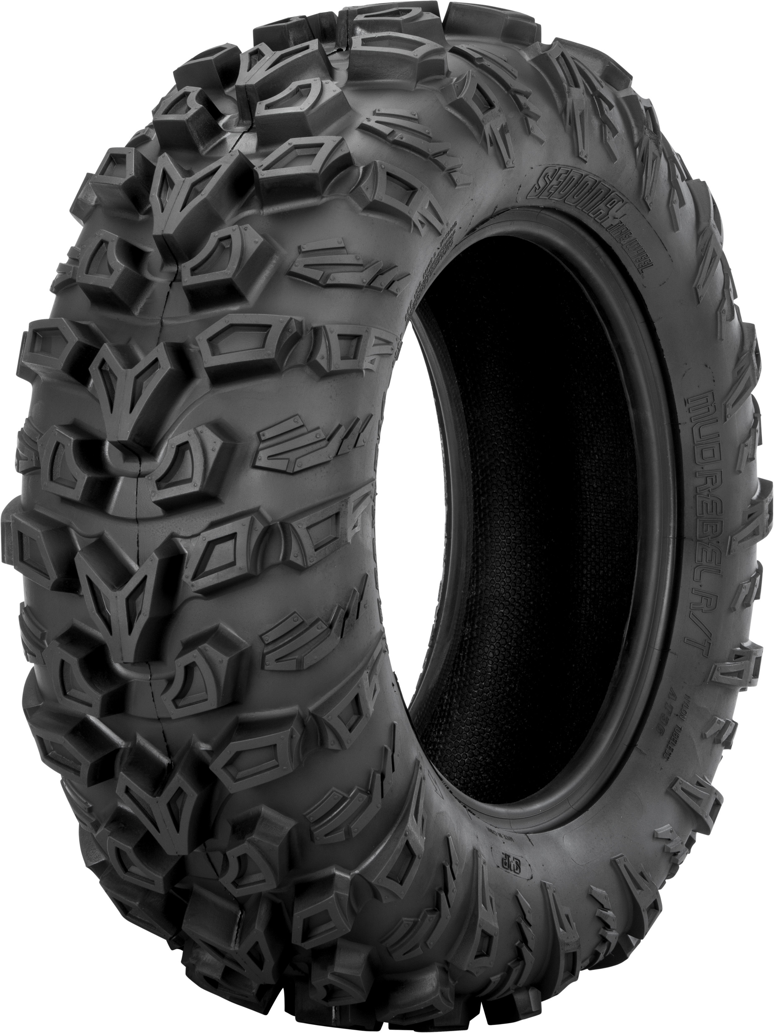 Sedona MR269R128PLY Tire Mud Rebel R/T Front 26X9R12 Lr-455Lbs Radial