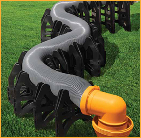 LT-80100 Level-Trek Sewer Hose Support 10 Foot Length