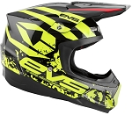 HE18T5G-BK-L EVS T5 Grappler Helmet Black, Large