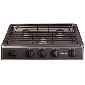 3133A Cooktop Slide-In 3 Burner Stainless Steel 2963A SCSA3PS