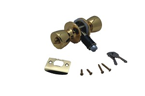 013-220 AP Products Entry Door Lock Fits Standard Or Drive-In Latches
