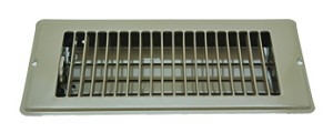 013-628 AP Products Heating/ Cooling Register 4 Inch Width x 10 Inch