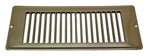 013-634 AP Products Heating/ Cooling Register 4 Inch Width x 10 Inch