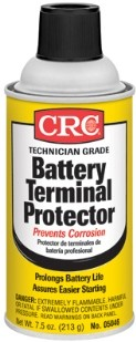 05046 CRC Industries Battery Cleaner Protects Battery Posts/