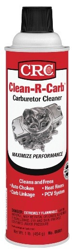 05081F CRC Industries Carburetor Cleaner Use To Clean Automatic