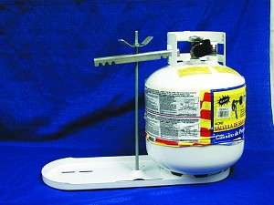 1811.1 Manchester Tank Propane Tank Rack Tray With Hold Down Clamp
