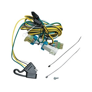 118383 Tekonsha Trailer Wiring Connector 4 Way Flat Replacement For