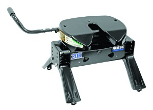 30081 Reese Fifth Wheel Trailer Hitch With Head/ Head Support/ 14-18
