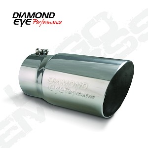 5612BAC-DE Diamond Eye Performance Exhaust Tail Pipe Tip 4 Inch