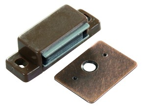 70265 JR Products Door Catch Use To Keep Cabinet Doors Closed