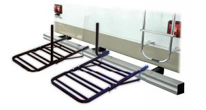 80605 Swagman Bike Rack - Bumper Mount Holds 2 Bikes With 2 Wide Tires