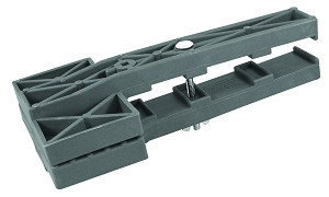 A10252 Valterra Awning Fabric Clamp Gray
