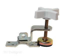 E511 RV Designer Fold-Out Bunk Clamp Use To Secure Slide Out/ Fold