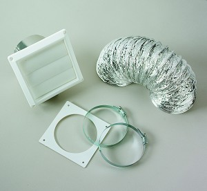 VI422 Westland Clothes Washer/ Dryer Vent Installation Kit Used For