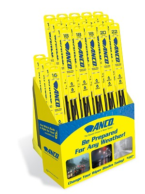 Anco Wiper Blades >> Aw310a Anco Wipers Pre Pack Assortment 31 Series Pre Pack Assortment