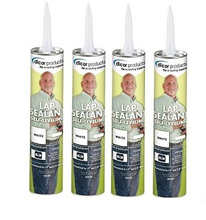 501LSW-1 Dicor Corp. Roof Sealant Use To Create A Watertight Seal 4 Pack